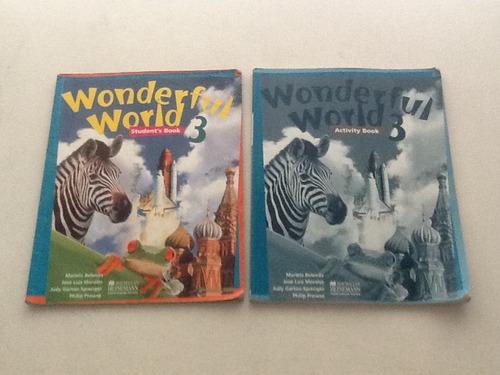 libro de ingles wonderfull world 3