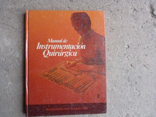 libro de instrumental quirurgico
