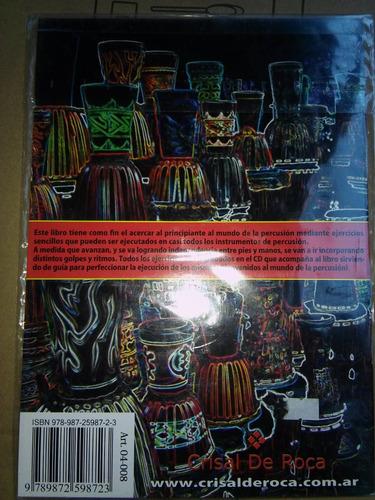 libro de introducción a la percusión con cd