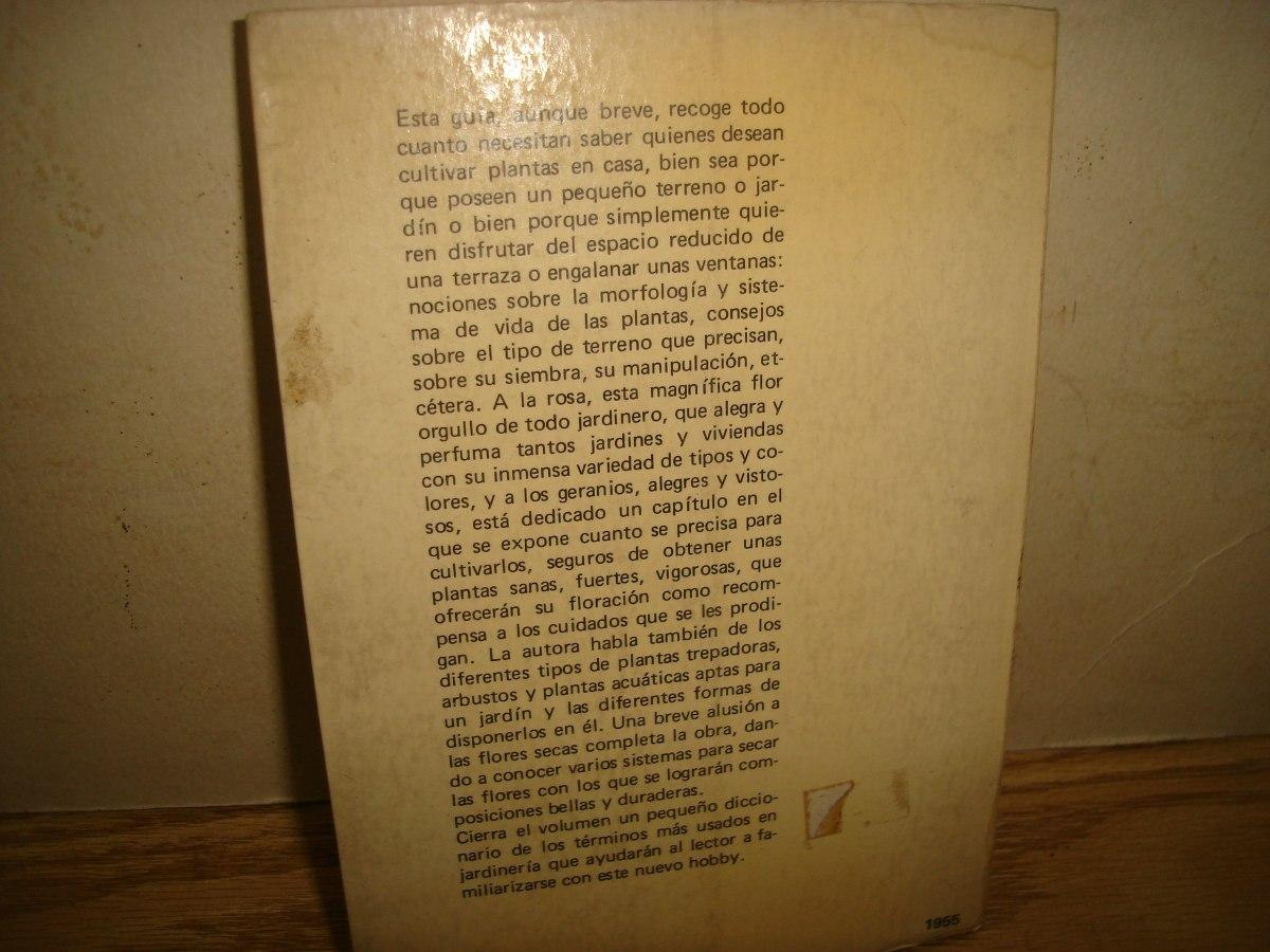 Libro de jardiner a cultivo en jard n balcones e - Libros sobre jardineria ...