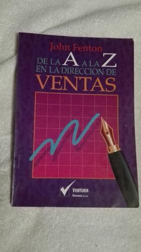 libro de la a a la z rn la dirección de ventas, john fenton.
