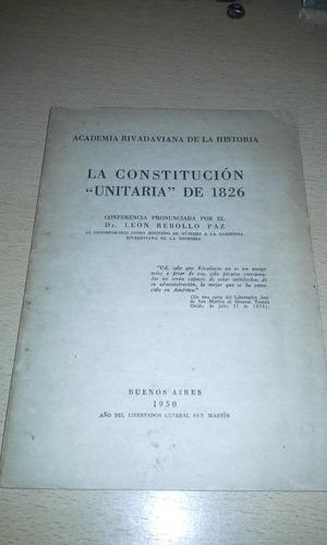 libro de la constitucion unitaria