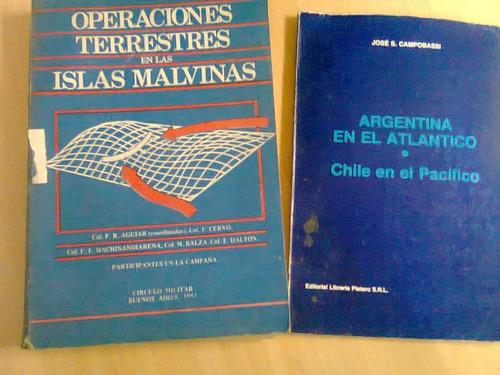 libro de la malvina - operaciones terrestres en malvinas