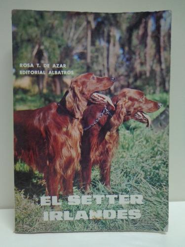 libro de la raza de perros el setter irlandes