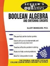 libro de la serie schaum 's outlines boolean algebra
