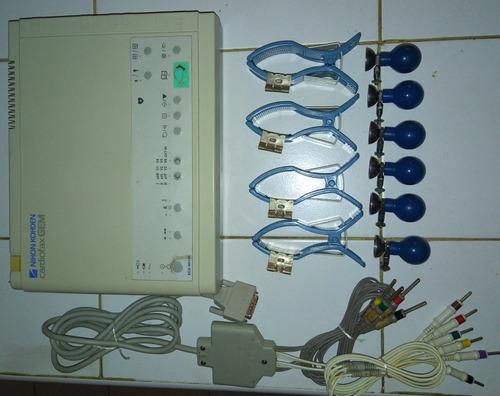 libro de lectura de electrocardiograma nihon kohden 9010k