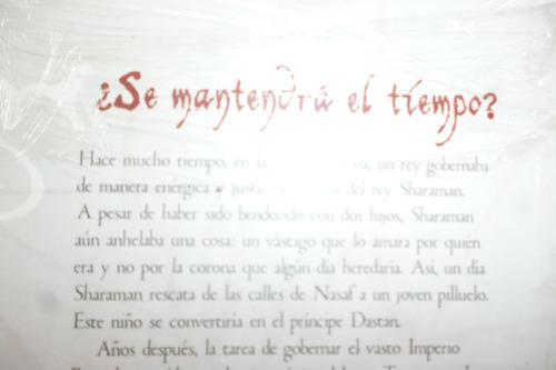 libro de lectura el príncipe de persia