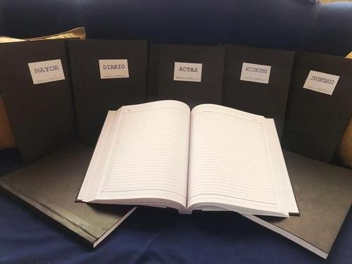 libro de licores menor 100 folios - papel bond - actualizado