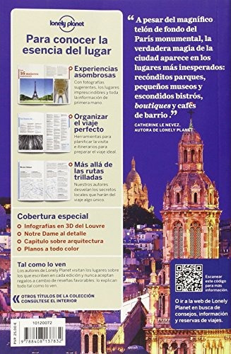libro de lonely planet paris - nuevo