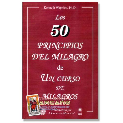libro de los 50 principios del milagro