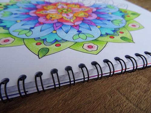 libro de mandalas para colorear