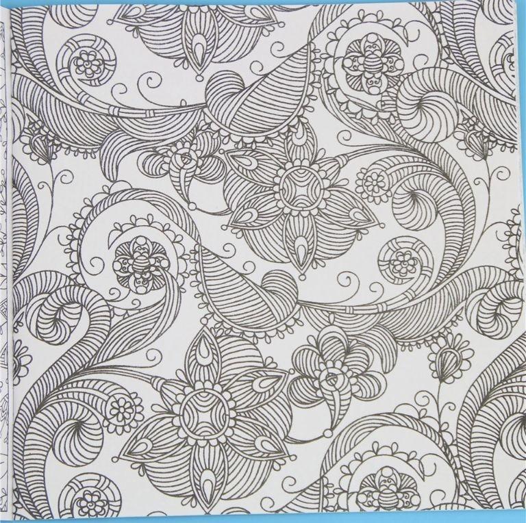 Libro De Mandalas Para Colorear Pintar - $ 90,00 en Mercado Libre