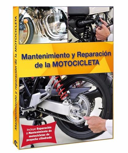 libro de mantenimiento y reparacion de motocicleta + dvd