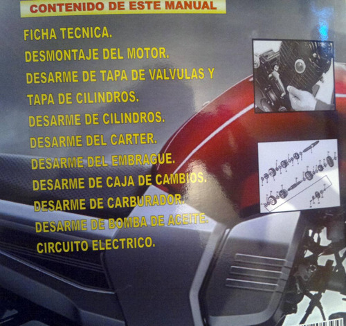 libro de mecanica de motos baja cilindrada rt