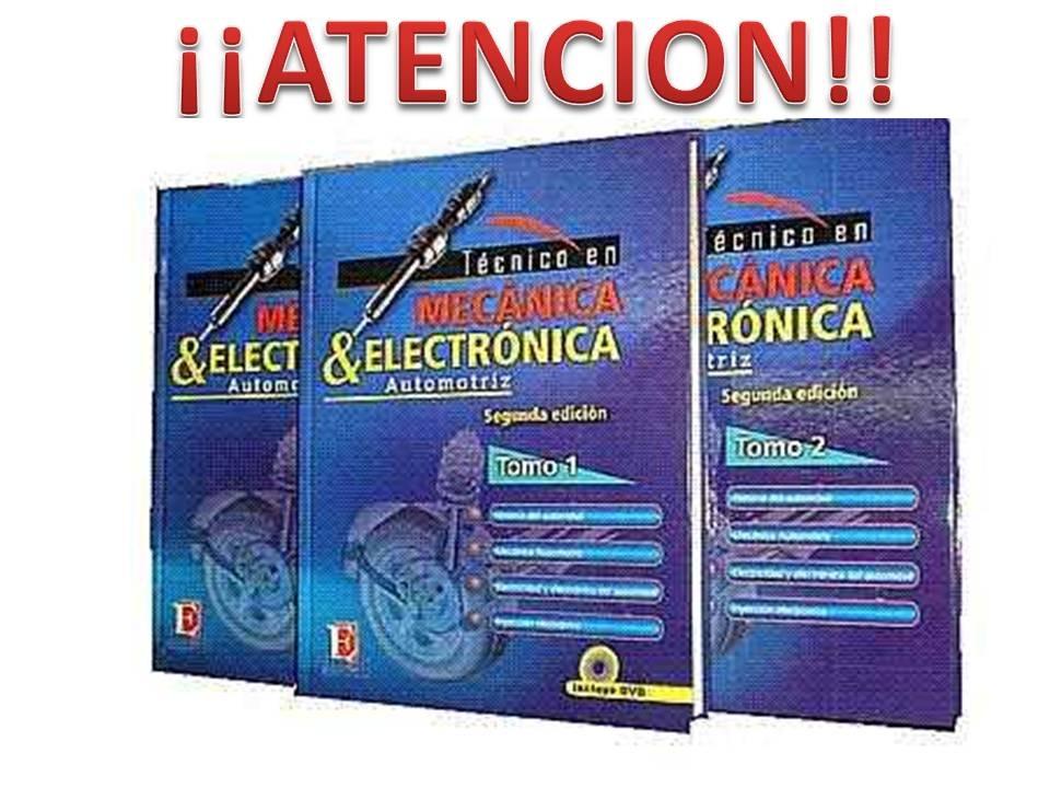 Libro De Mecanica Y Electronica Automotriz - $ 1,807.00 en