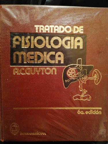 libro de medicina  fisiología médica a. c. guyton