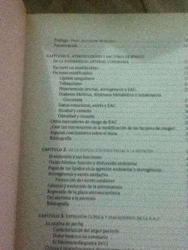 libro de medicina la enfermedad arterial coronaria