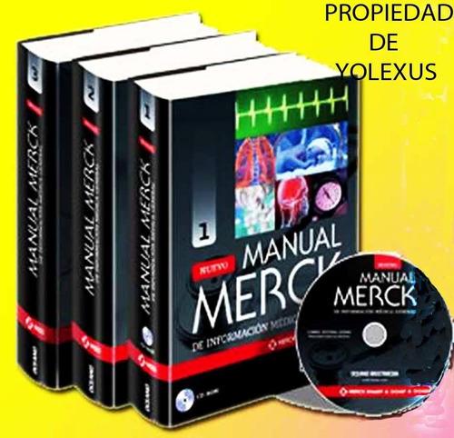 libro de medicina  merck de informacion medica general-origi