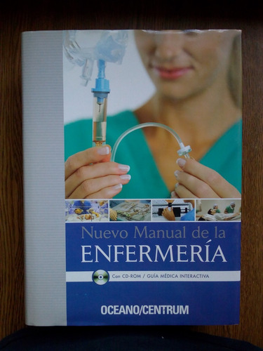 libro de medicina nuevo manual de la enfermería con cd-rom