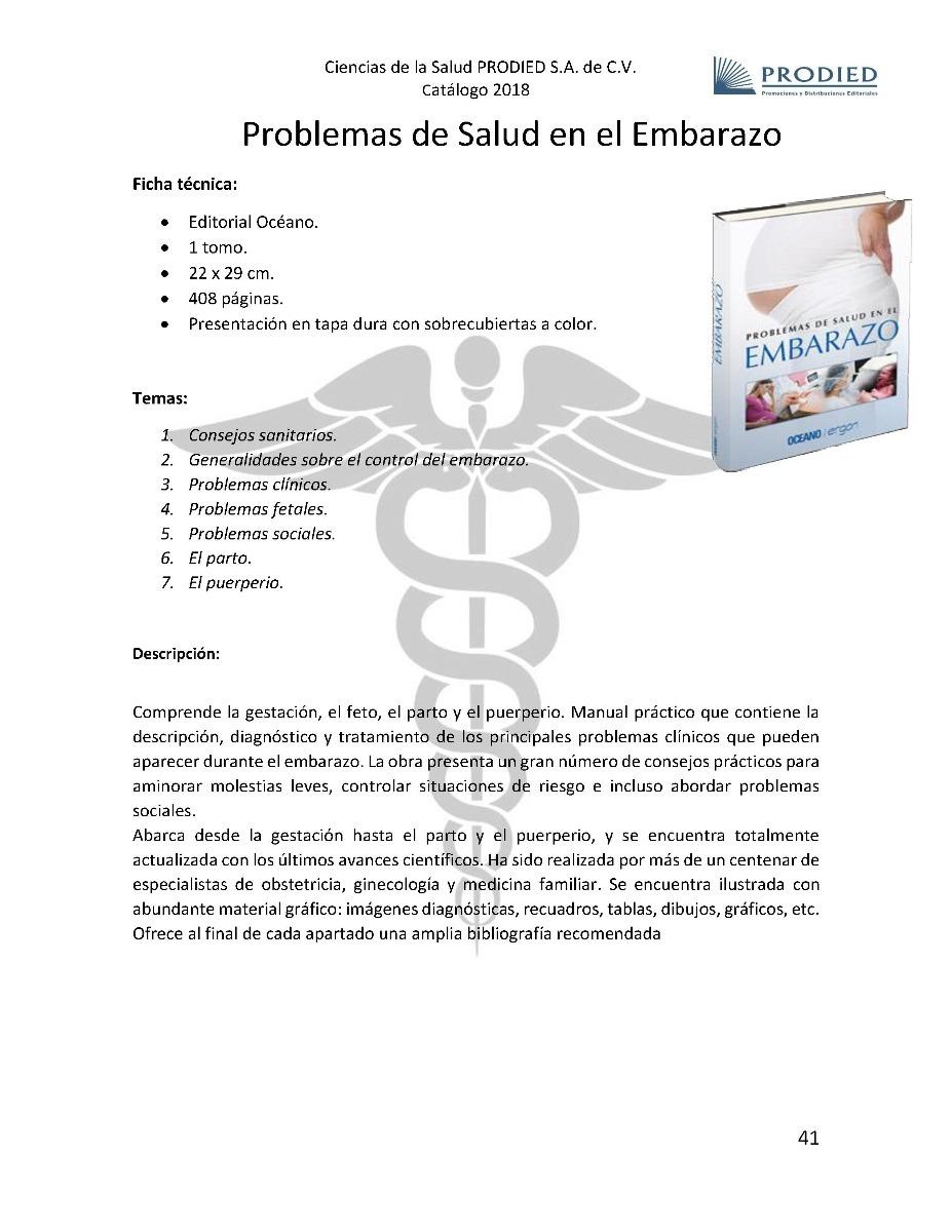 9e256daaf libro de medicina problemas de salud en el embarazo 1 vol. Cargando zoom.
