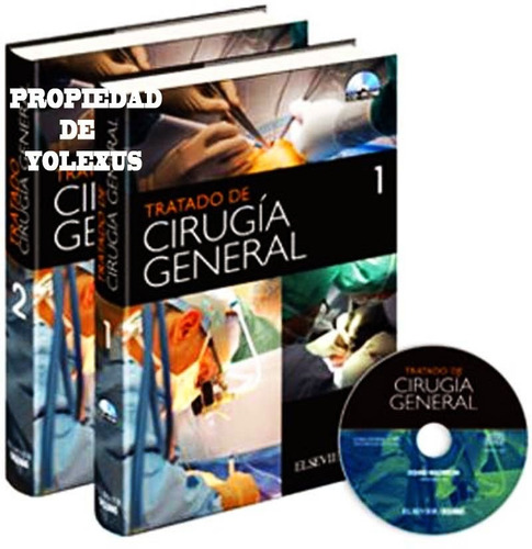libro de medicina tratado de cirugía general-original