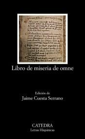libro de miseria de omne(libro clásicos)