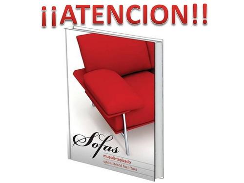 libro de  mueble tapizados  sofas