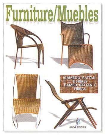 libro de muebles de bamb ratan y fibras idea book