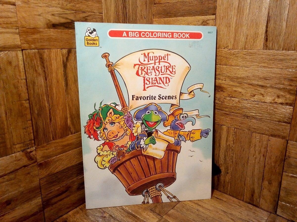 Libro De Muppets Para Colorear En Ingles Vintage - $ 200.00 en ...