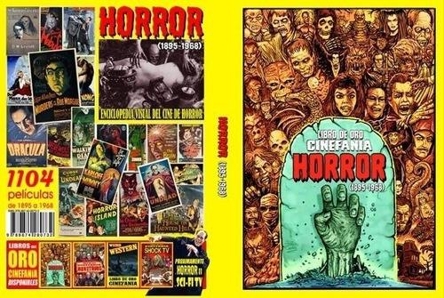 libro de oro cinefanía  horror (1895-1968)