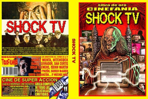 libro de oro cinefania shock tv