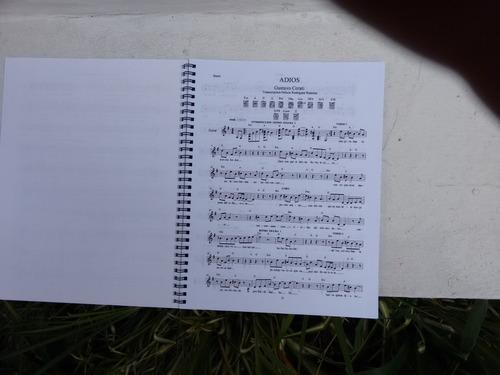 libro de partituras del rock en español