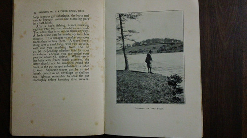 libro de pesca spinnig with a fixed spool reel en ingles