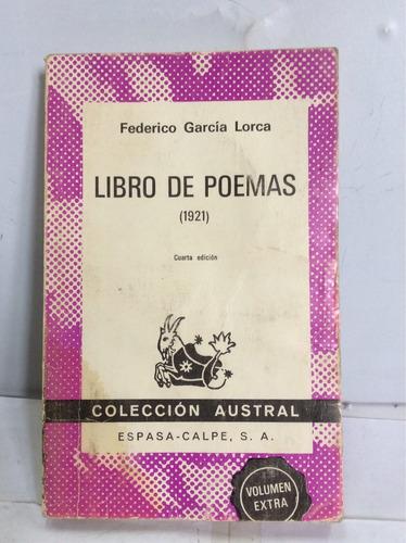 libro de poemas (1921). federico garcía lorca