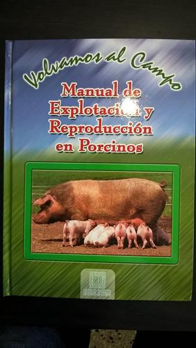 libro de porcinos tipo 1 explotacion y reproduccion con  cd
