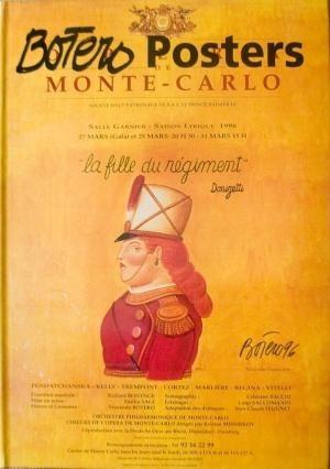 libro de posters de botero  monte - carlo  publicacion 2002
