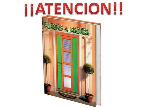 libro de puertas de madera