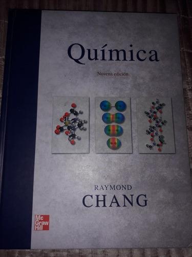 libro de química general chang