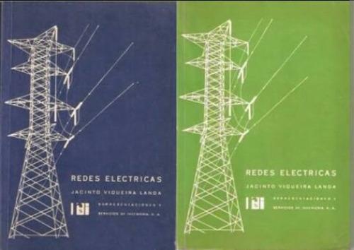 libro de redes electricas  (2 tomos) electricidad