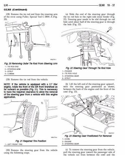 libro de taller chrysler lhs 1999-2001 envio gratis