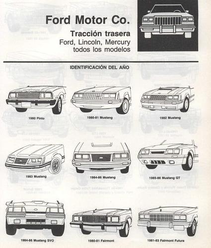 libro de taller ford capri, 1979-1987, envio gratis.