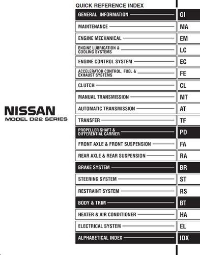libro de taller nissan d22 terrano, 1997-2014, envío gratis