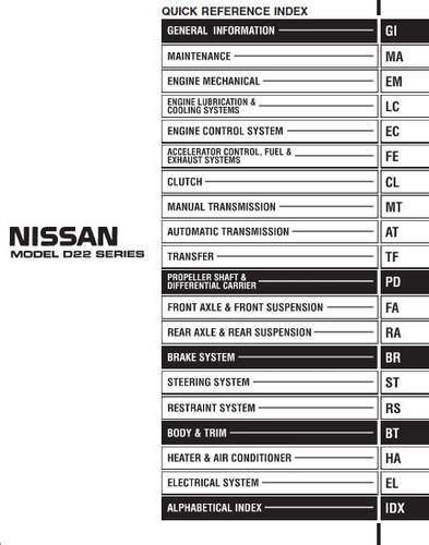 libro de taller nissan d22 terrano, 1997 - 2014,envio gratis