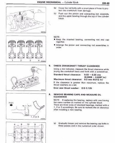 libro de taller toyota starlet 1984-1989 envio gratis