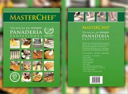 libro de técnicas de panadería masterchef mausi sebess