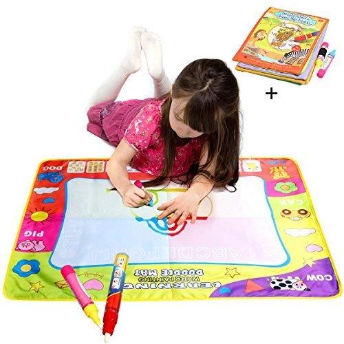 Libro De Tela Magic Water Drawing Coloring Pintura Doodle ...