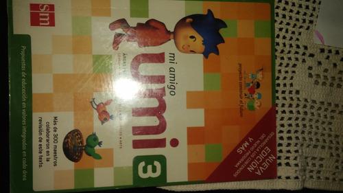 libro de texto tercer año mi amigo umi
