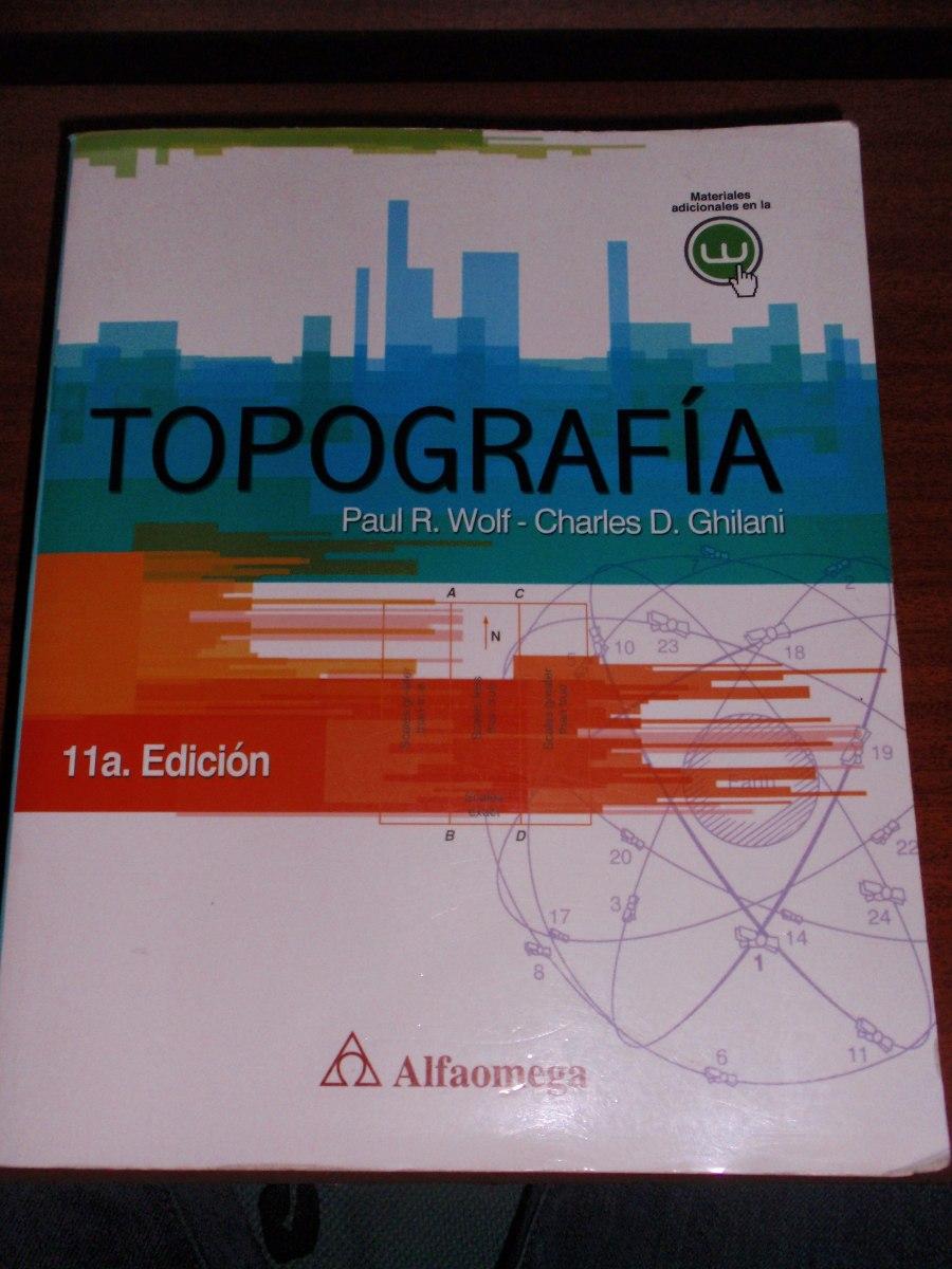 libro de topografia de wolf y ghilani pdf