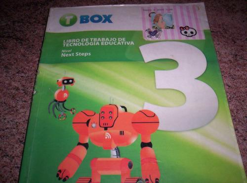 libro de trabajo de tecnología educativa: t box 3 con cd.