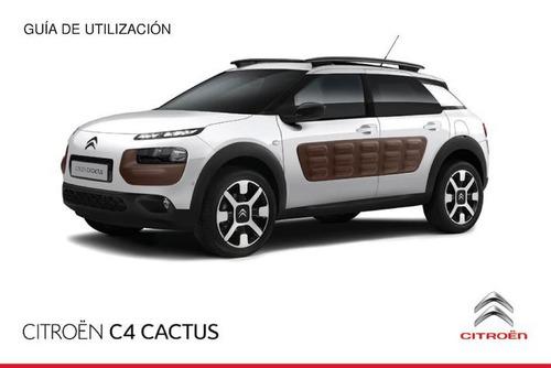 libro de usuario citroën c4 cactus 2014-2016, envio gratis.